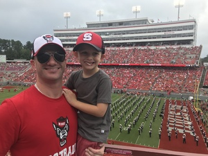 Vincent attended NC State Wolfpack vs. Boston College - NCAA Football - Time Tba on Oct 6th 2018 via VetTix