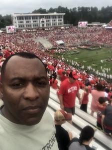 Kelvin attended NC State Wolfpack vs. Boston College - NCAA Football - Time Tba on Oct 6th 2018 via VetTix