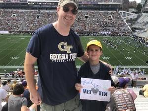Chris attended Georgia Tech Yellow Jackets vs. Clemson Tigers - NCAA Football on Sep 22nd 2018 via VetTix