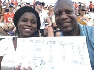 Derek attended Georgia Tech Yellow Jackets vs. Clemson Tigers - NCAA Football on Sep 22nd 2018 via VetTix