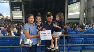 Manuel attended Niall Horan: Flicker World Tour 2018 - Pop on Sep 22nd 2018 via VetTix
