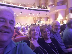 Christopher attended The Phoenix Symphony Presents- Sinatra and Friends on Sep 23rd 2018 via VetTix