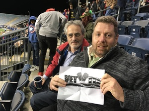 William attended Army vs. Navy Cup Vli - Collegiate Soccer on Oct 12th 2018 via VetTix