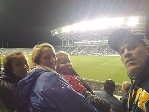 Joe attended Army vs. Navy Cup Vli - Collegiate Soccer on Oct 12th 2018 via VetTix
