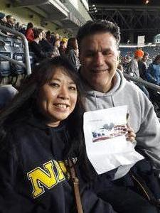 Gary attended Army vs. Navy Cup Vli - Collegiate Soccer on Oct 12th 2018 via VetTix