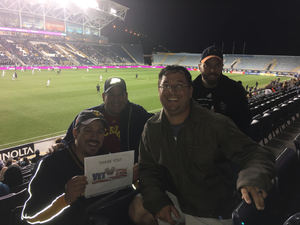 Gabriel attended Army vs. Navy Cup Vli - Collegiate Soccer on Oct 12th 2018 via VetTix