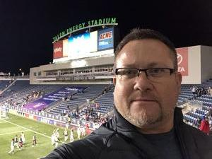 James attended Army vs. Navy Cup Vli - Collegiate Soccer on Oct 12th 2018 via VetTix