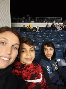 SAMANTHA attended Army vs. Navy Cup Vli - Collegiate Soccer on Oct 12th 2018 via VetTix