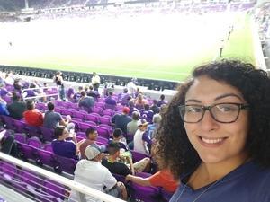 Nawal attended Orlando City SC vs. Houston Dynamo - MLS on Sep 22nd 2018 via VetTix