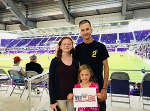 Joe attended Orlando City SC vs. Houston Dynamo - MLS on Sep 22nd 2018 via VetTix