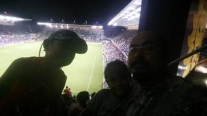 Ron attended Orlando City SC vs. Houston Dynamo - MLS on Sep 22nd 2018 via VetTix