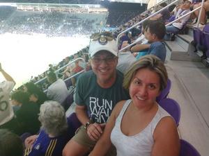 Daniel attended Orlando City SC vs. Houston Dynamo - MLS on Sep 22nd 2018 via VetTix