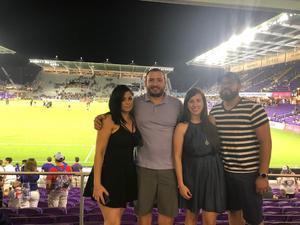 Luis attended Orlando City SC vs. Houston Dynamo - MLS on Sep 22nd 2018 via VetTix