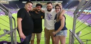 Olvy attended Orlando City SC vs. Houston Dynamo - MLS on Sep 22nd 2018 via VetTix