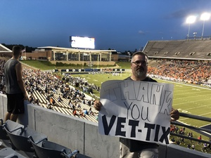 Michael attended Rice Owls vs. UTSA - NCAA Football on Oct 6th 2018 via VetTix