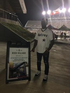 Sharret attended Rice Owls vs. UTSA - NCAA Football on Oct 6th 2018 via VetTix