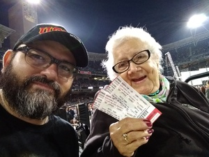 Rios attended Live Nation Presents Def Leppard / Journey - Pop on Sep 23rd 2018 via VetTix