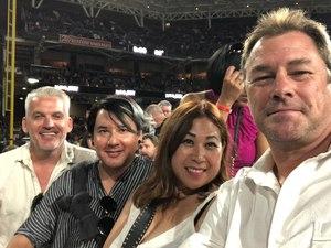 Doug attended Live Nation Presents Def Leppard / Journey - Pop on Sep 23rd 2018 via VetTix