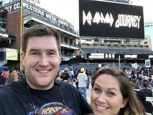 Adam attended Live Nation Presents Def Leppard / Journey - Pop on Sep 23rd 2018 via VetTix