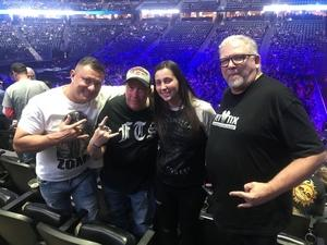Dean attended Deep Purple/judas Priest at the Pepsi Center on Sep 23rd 2018 via VetTix