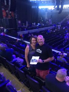 John attended Deep Purple/judas Priest at the Pepsi Center on Sep 23rd 2018 via VetTix
