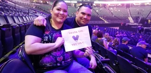 Carlos attended Deep Purple/judas Priest at the Pepsi Center on Sep 23rd 2018 via VetTix