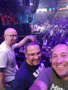 George attended Deep Purple/judas Priest at the Pepsi Center on Sep 23rd 2018 via VetTix