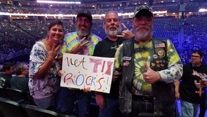 RUSSELL attended Deep Purple/judas Priest at the Pepsi Center on Sep 23rd 2018 via VetTix