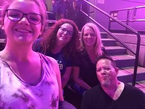 Jodean attended Deep Purple/judas Priest at the Pepsi Center on Sep 23rd 2018 via VetTix