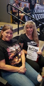 Kim attended Deep Purple/judas Priest at the Pepsi Center on Sep 23rd 2018 via VetTix