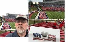 William T attended SMU Mustangs Football vs. University of Houston Cougars - NCAA Football on Nov 3rd 2018 via VetTix