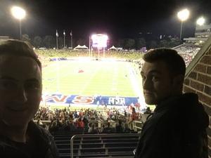 Bradley attended SMU Mustangs Football vs. University of Houston Cougars - NCAA Football on Nov 3rd 2018 via VetTix