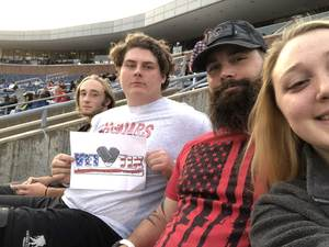 Aaron attended SMU Mustangs Football vs. University of Houston Cougars - NCAA Football on Nov 3rd 2018 via VetTix