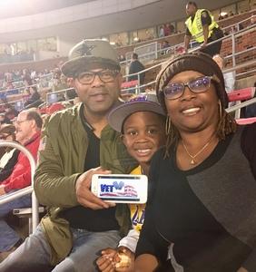 Herman attended SMU Mustangs Football vs. University of Houston Cougars - NCAA Football on Nov 3rd 2018 via VetTix