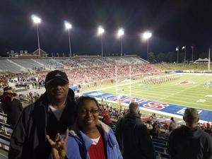 Andre attended SMU Mustangs Football vs. University of Houston Cougars - NCAA Football on Nov 3rd 2018 via VetTix