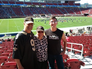 Christopher attended San Jose State vs. Army - NCAA Football on Oct 13th 2018 via VetTix