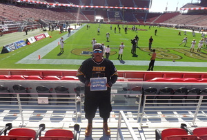 John attended San Jose State vs. Army - NCAA Football on Oct 13th 2018 via VetTix