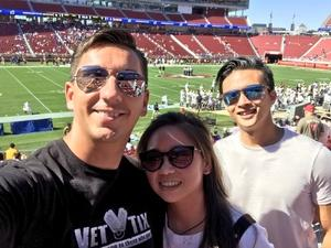 Steven attended San Jose State vs. Army - NCAA Football on Oct 13th 2018 via VetTix