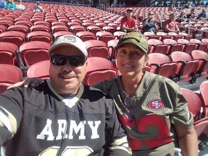 David attended San Jose State vs. Army - NCAA Football on Oct 13th 2018 via VetTix