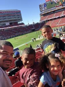 Pat attended San Jose State vs. Army - NCAA Football on Oct 13th 2018 via VetTix