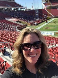 Jennifer attended San Jose State vs. Army - NCAA Football on Oct 13th 2018 via VetTix