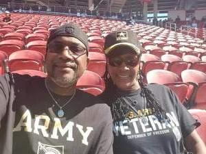 LDonna attended San Jose State vs. Army - NCAA Football on Oct 13th 2018 via VetTix