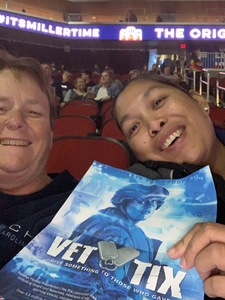 Angela attended Fall Out Boy -the M a N I a Tour With Machine Gun Kelly on Oct 6th 2018 via VetTix