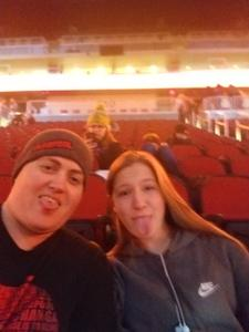 Natasha attended Fall Out Boy -the M a N I a Tour With Machine Gun Kelly on Oct 6th 2018 via VetTix