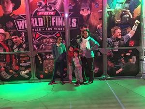 Matilda attended 2018 Professional Bull Riders World Finals 25th PBR Unleash the Beast - Day Two on Nov 8th 2018 via VetTix