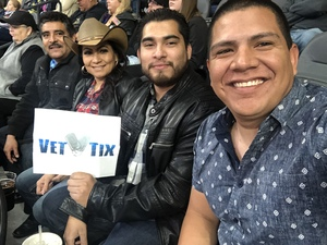 Juan attended 2018 Professional Bull Riders World Finals 25th PBR Unleash the Beast - Day Two on Nov 8th 2018 via VetTix