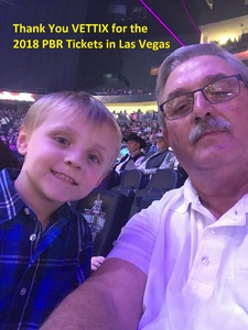 Robert attended 2018 Professional Bull Riders World Finals 25th PBR Unleash the Beast - Day Two on Nov 8th 2018 via VetTix