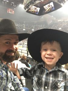 Roddy attended 2018 Professional Bull Riders World Finals 25th PBR Unleash the Beast - Day Two on Nov 8th 2018 via VetTix