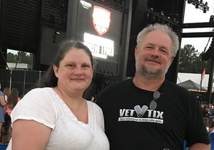 Paula katie attended Cole Swindell and Dustin Lynch: Reason to Drink Another Tour on Oct 5th 2018 via VetTix