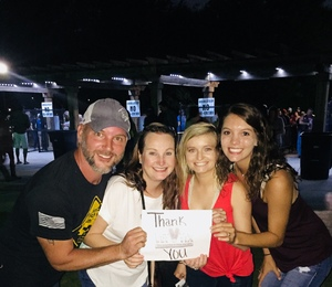 Gerald attended Cole Swindell and Dustin Lynch: Reason to Drink Another Tour on Oct 5th 2018 via VetTix